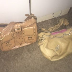 Two Betsy Johnson bags